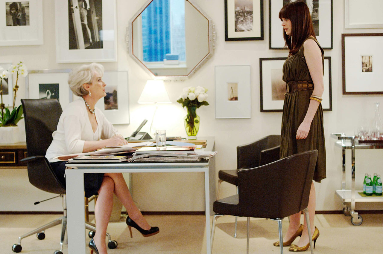 Fashion from devil wears prada 90