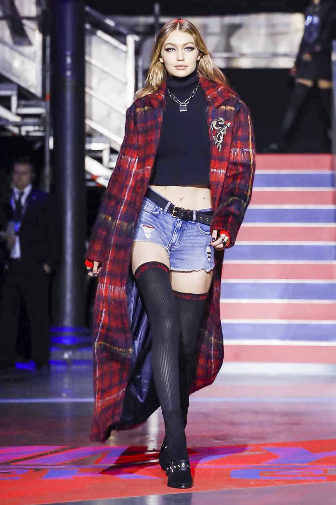 1489e47eb50ad Tommy Hilfiger AW17 Runway Collection presented at London Fashion ...