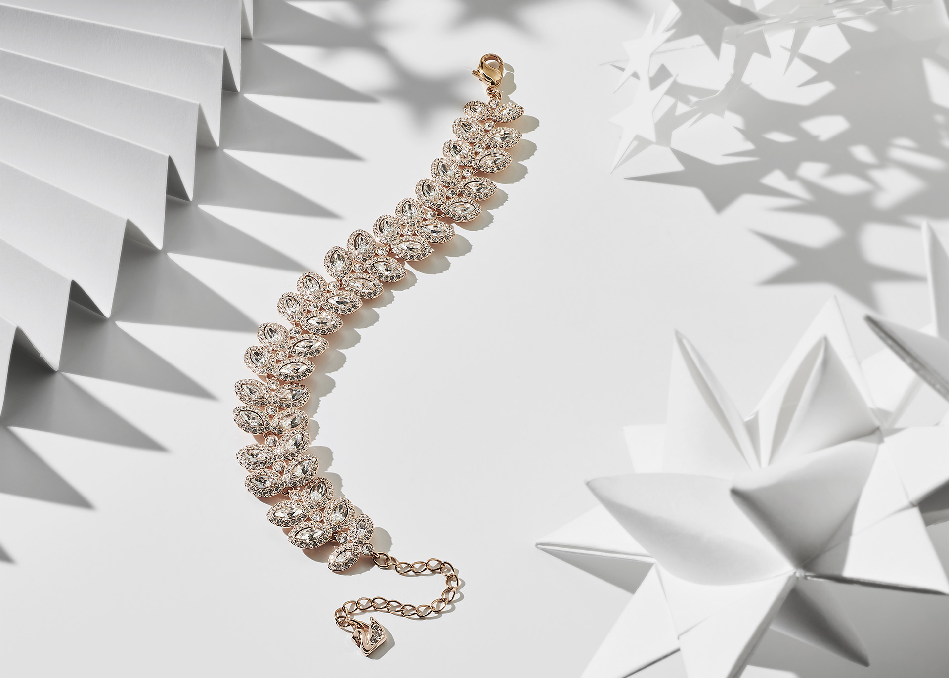 Christmas Jewellery Gift Idea: Day 7 - white crystal Baron Bracelet