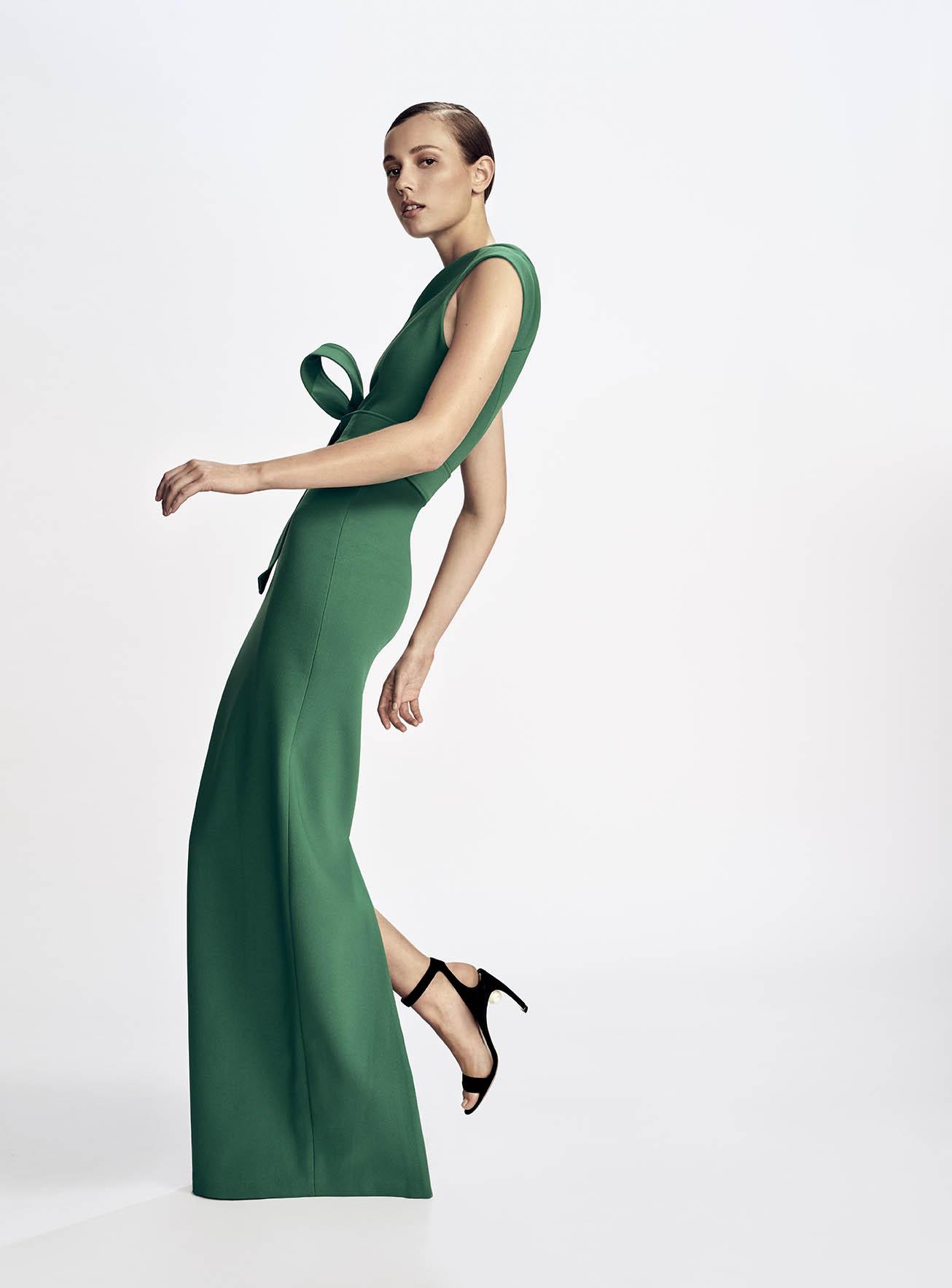 RACHEL GILBERT Juno gown in green $999. NICHOLAS KIRKWOOD Lola Pearl ...