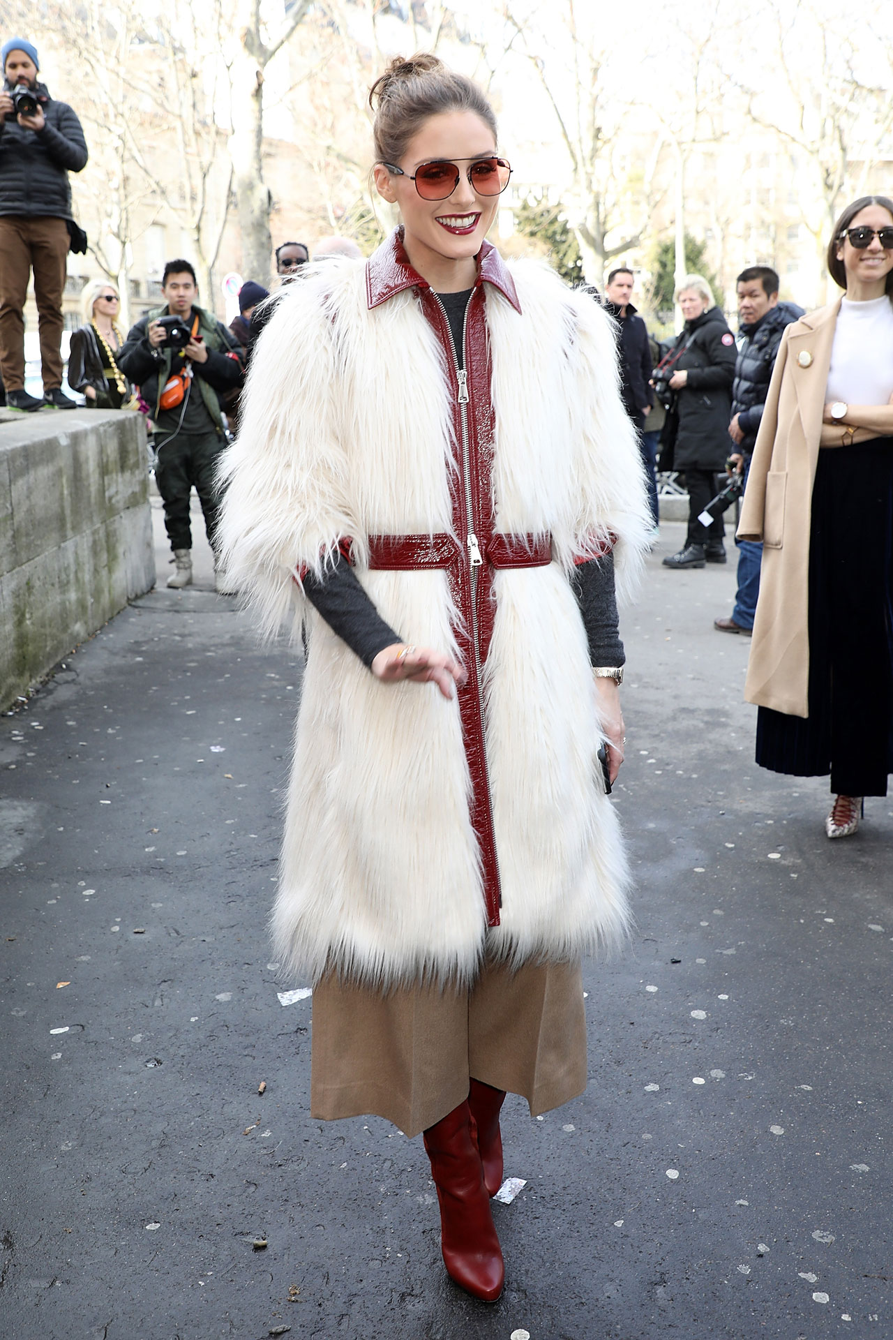 c43f5796170 What Olivia Wore. How to do Autumn according to Ms Palermo s fashion week  style.