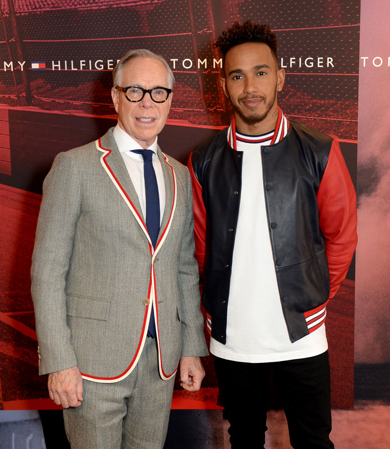 lewis hamilton joins gigi hadid as global ambassador of. Black Bedroom Furniture Sets. Home Design Ideas