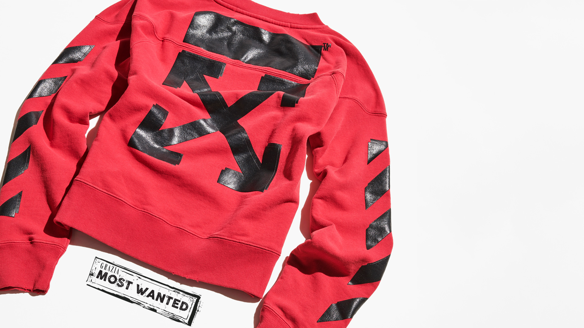Shop Sweatshirt Off Virgil Rated X By This White Abloh Champion rq6rgYx