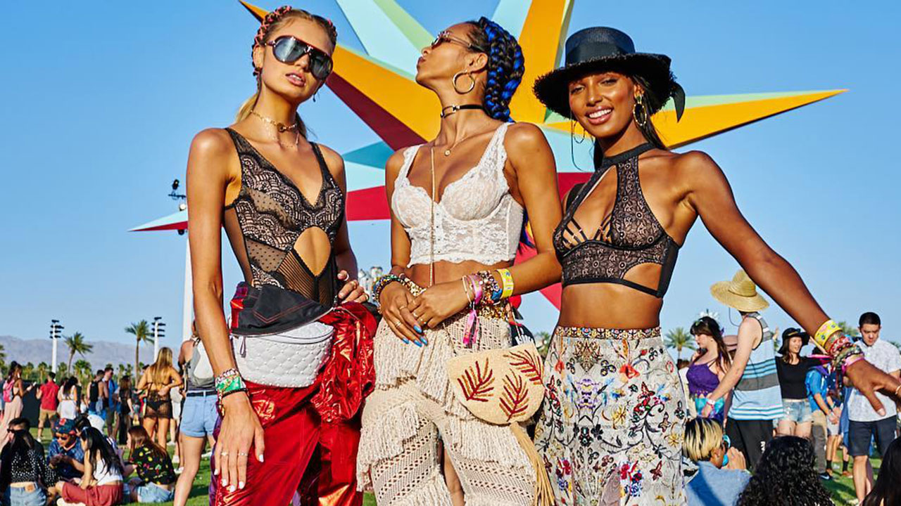 18e84c46993c Our 20 favourite fashion looks from Coachella 2018: Weekend One