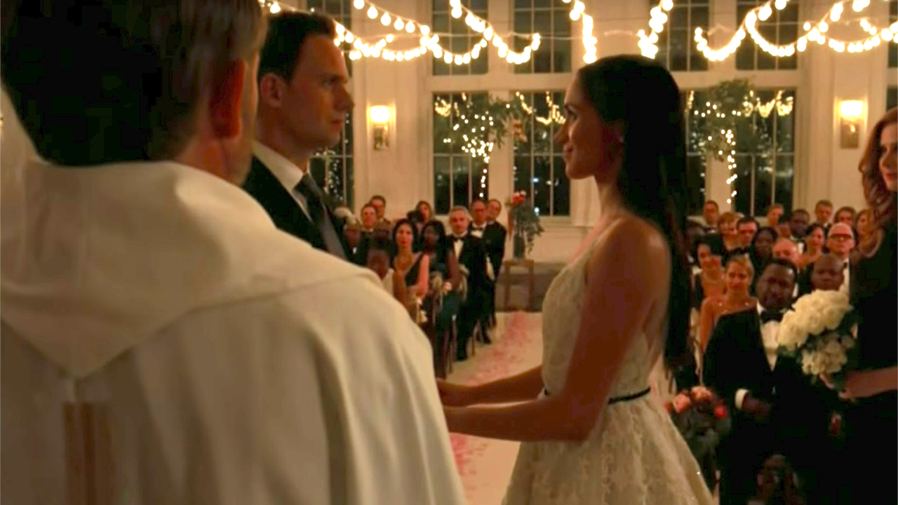 First Look: Meghan Markle's Suits Wedding And Series Exit