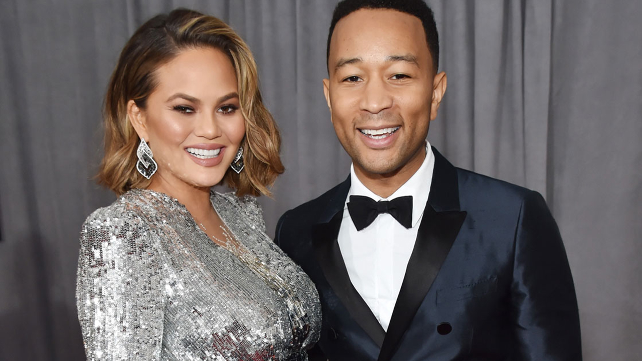 Chrissy Teigen & John Legend welcome Baby No 2!