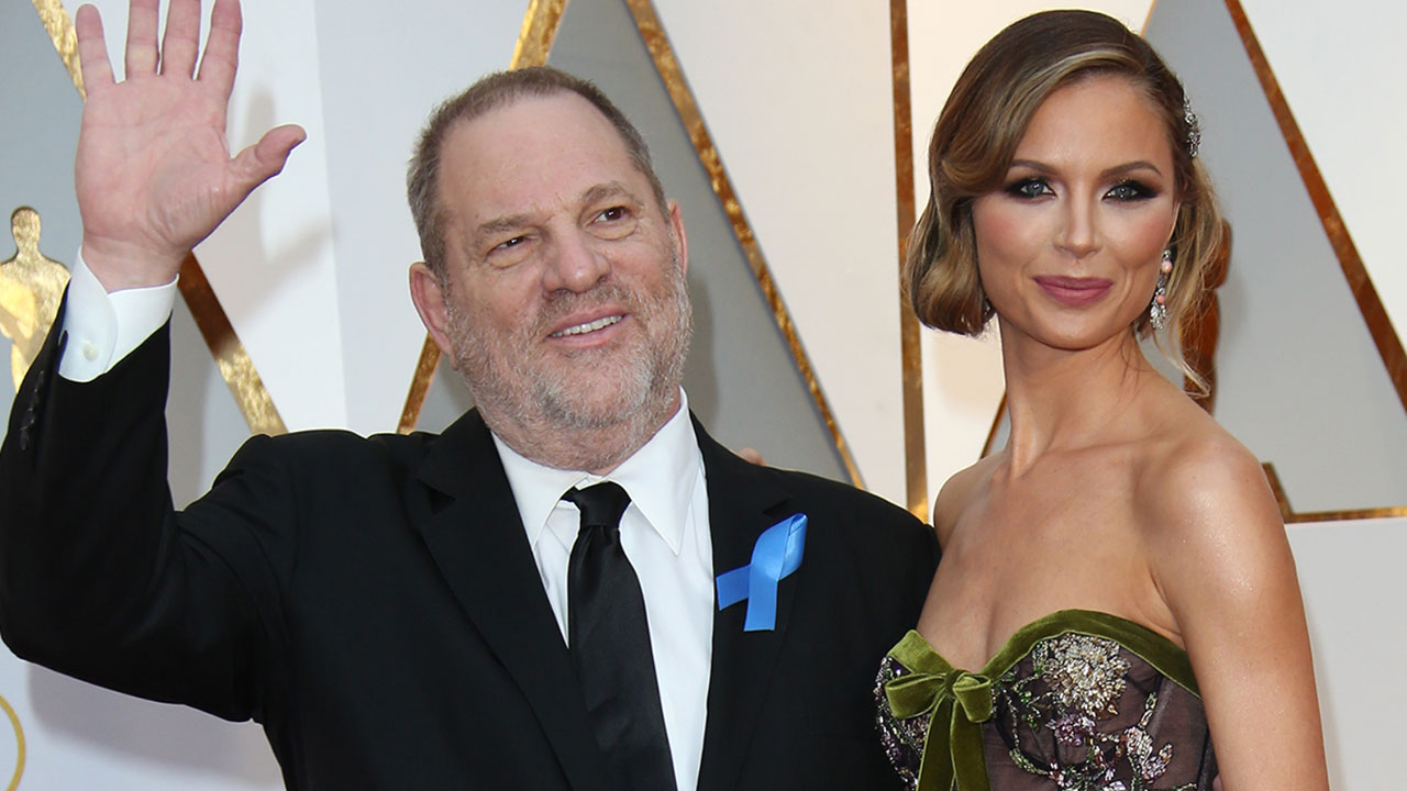 Harvey Weinstein's estranged wife says she knew nothing about alleged misconduct
