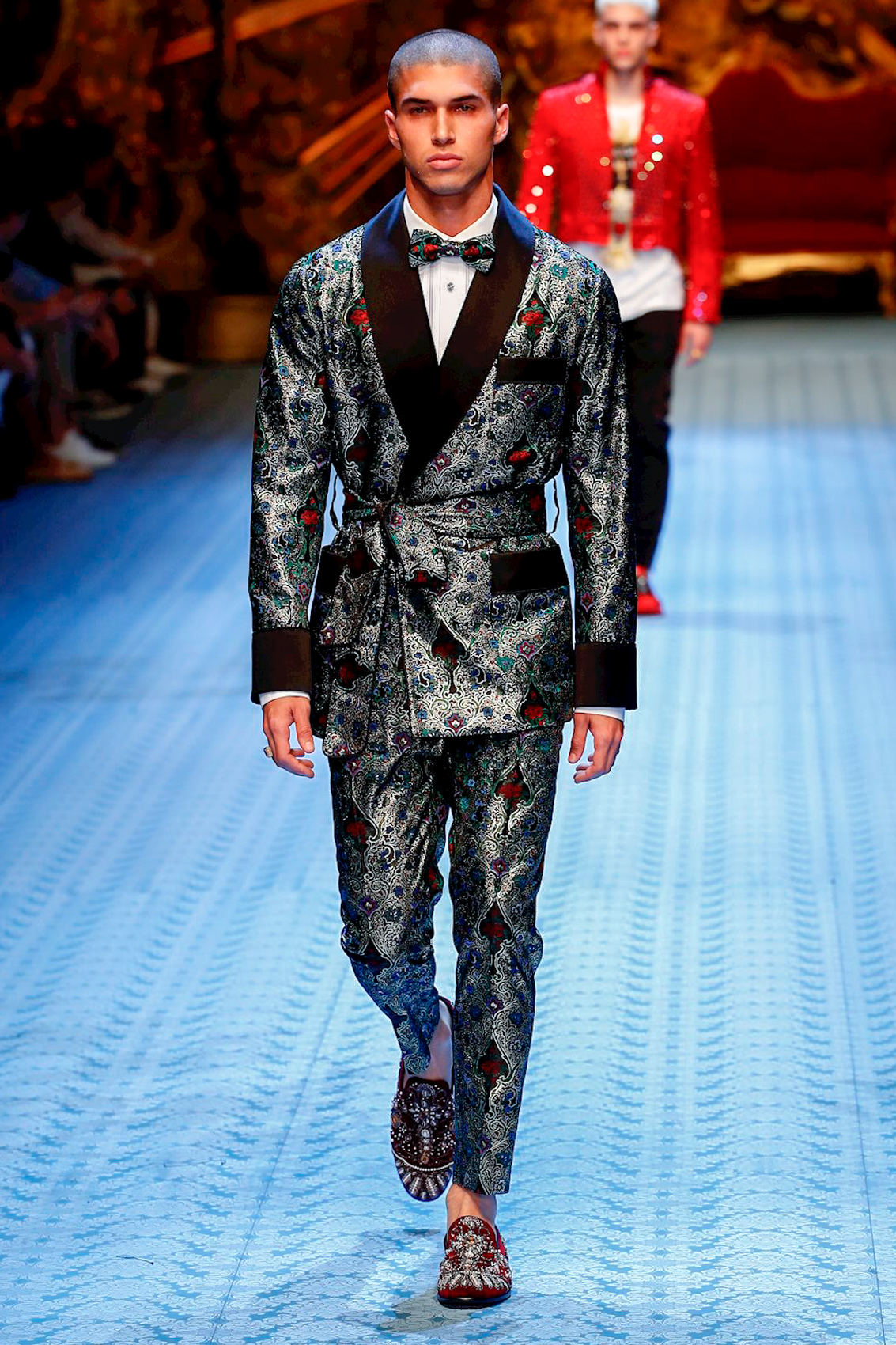 572b0f59 Dolce & Gabbana Fashion Show, Menswear Collection, Spring Summer 2019 in  Milan
