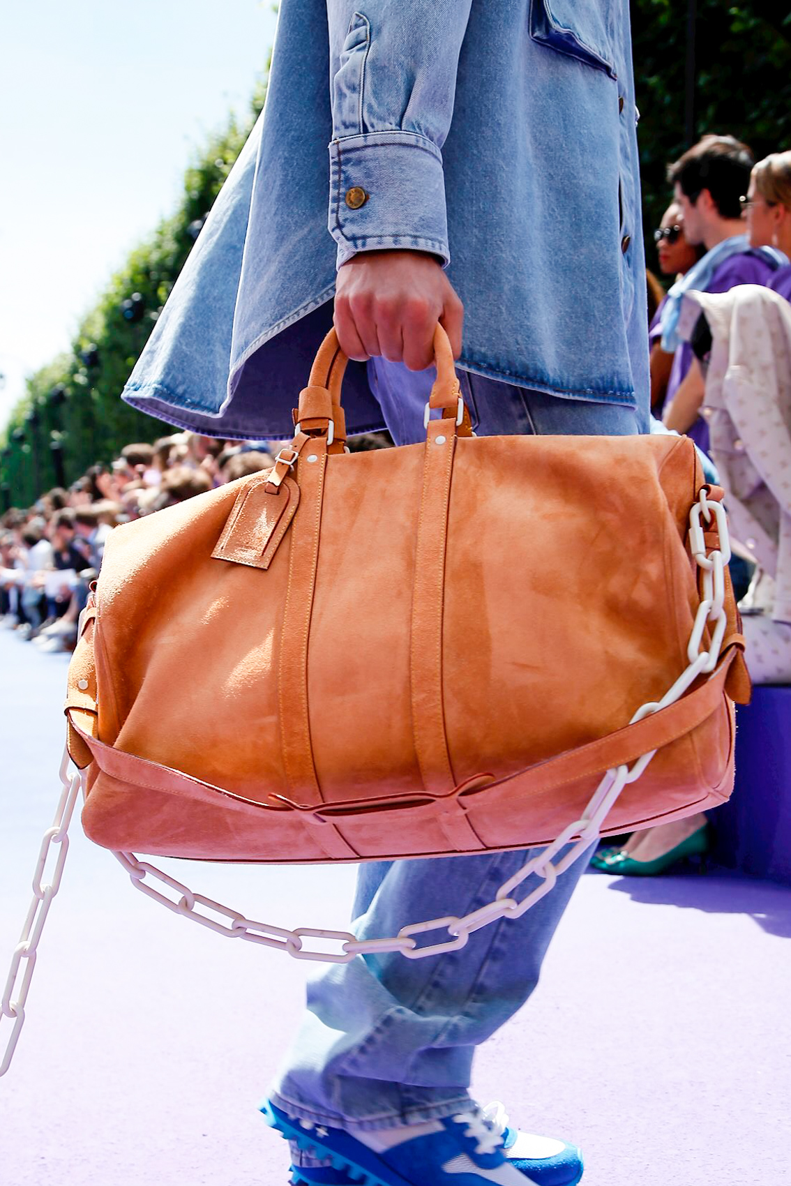 40d46c1b17f3 Why the bags and shoes at Louis Vuitton Men s SS19 are ideal for women