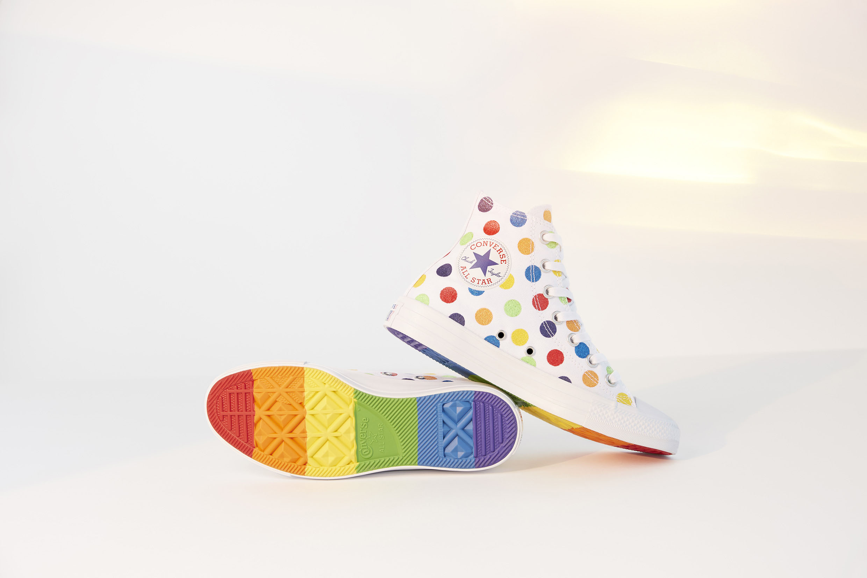 605c69775174b1 Where to buy Converse Pride x Miley Cyrus Chuck Taylor Rainbow High Top