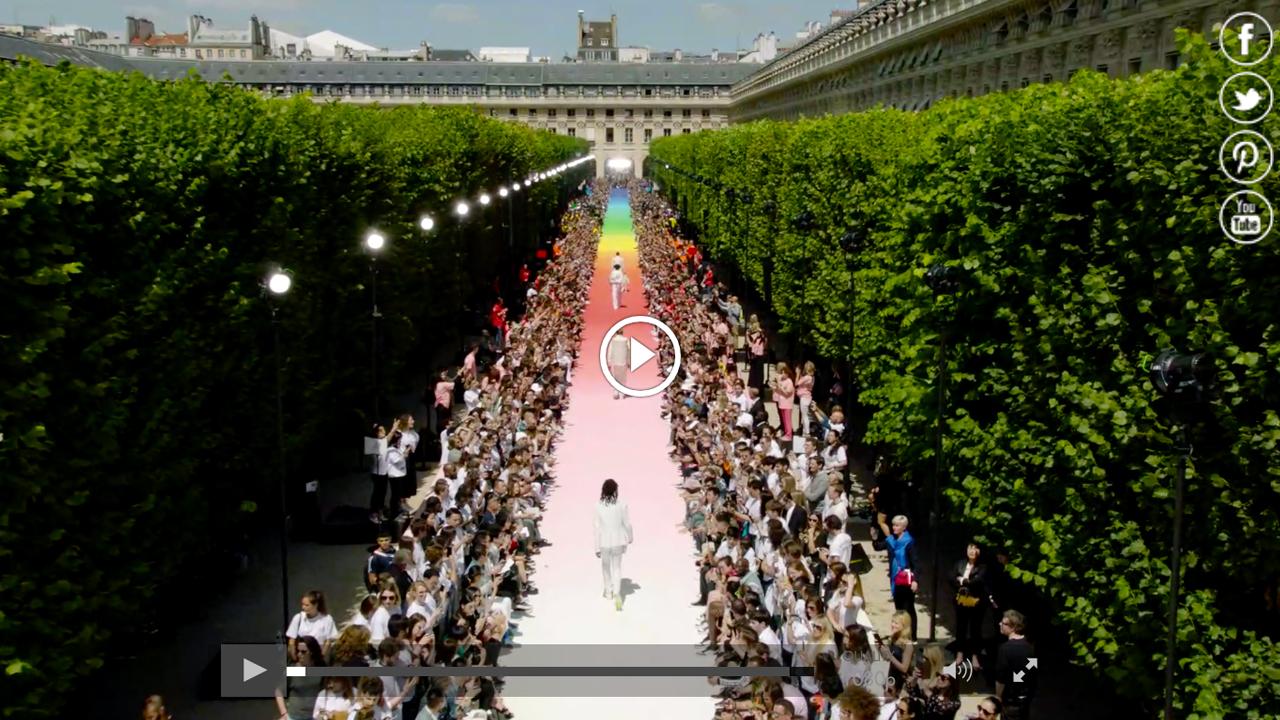 Watch the Louis Vuitton Men's Spring Summer 2019 runway show