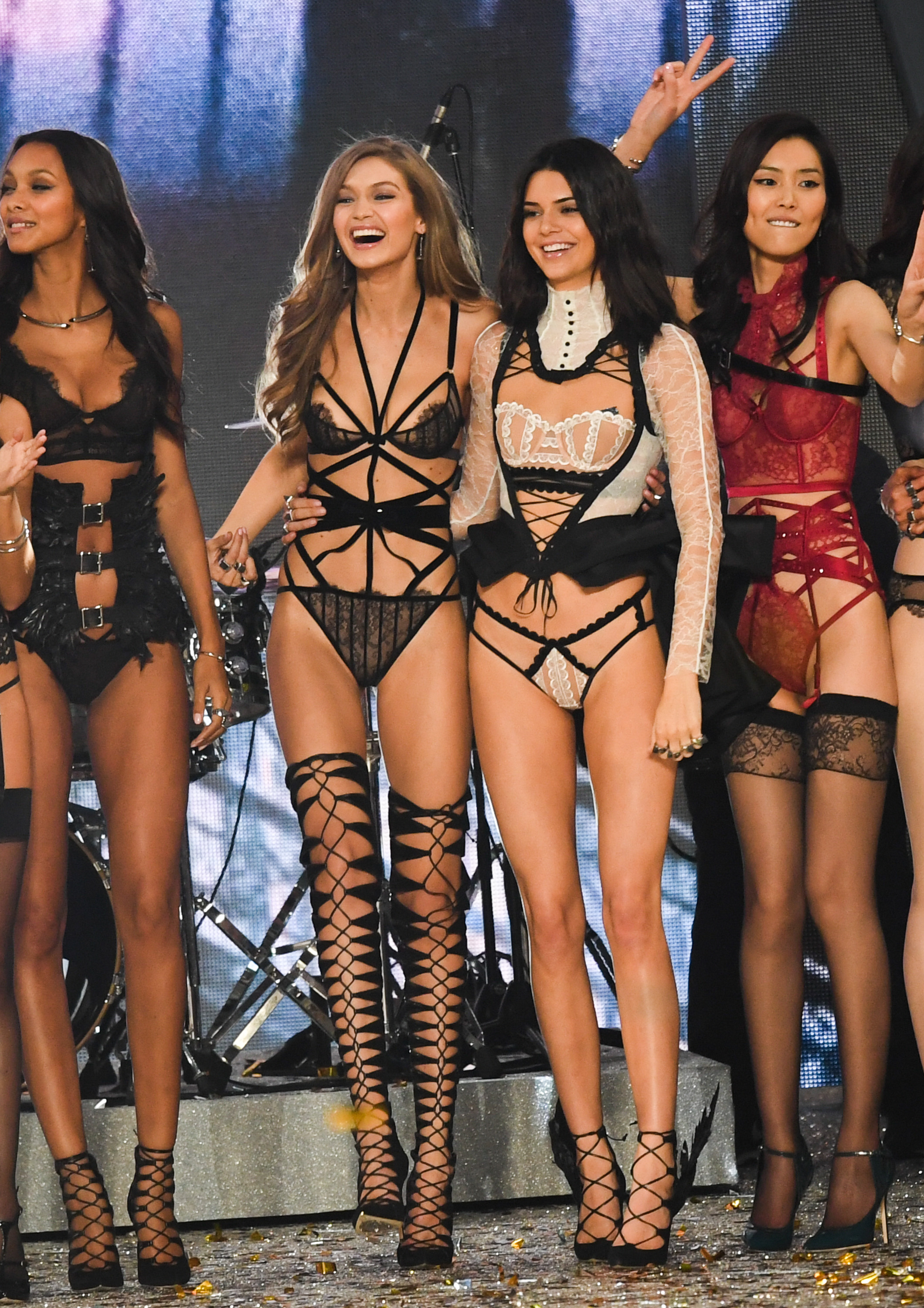 Gigi Hadid And Kendall Jenner Are Confirmed For The 2018 Victoria S