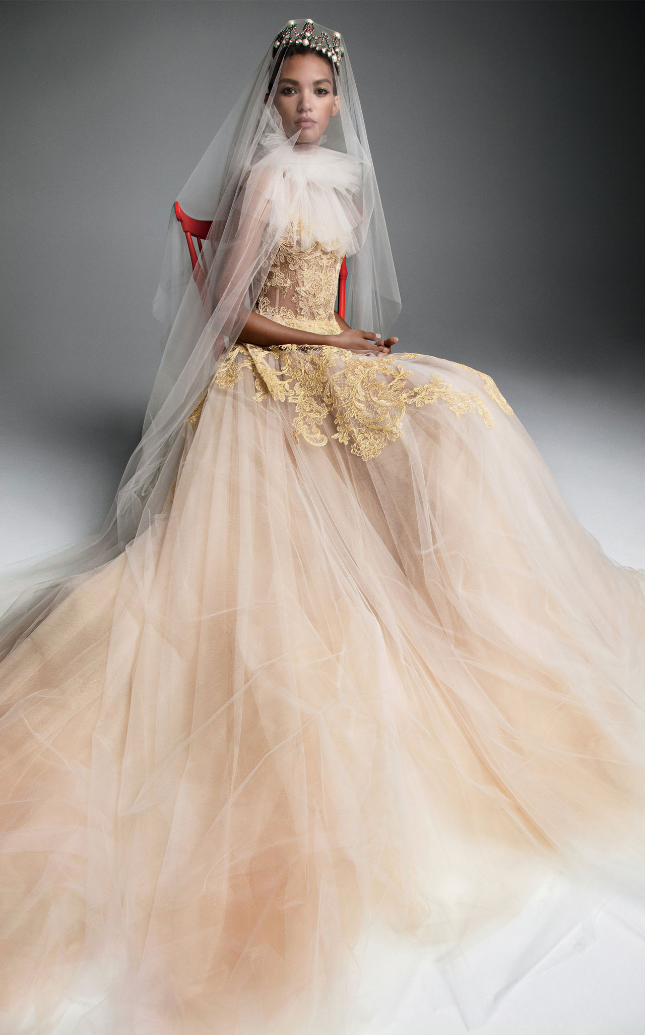 27a3c9a306f2 The biggest wedding dress trend for 2019 according to Pinterest