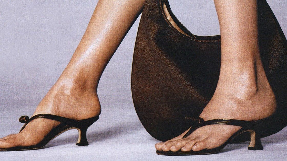 Do You Remember The 'Thong Heel'?