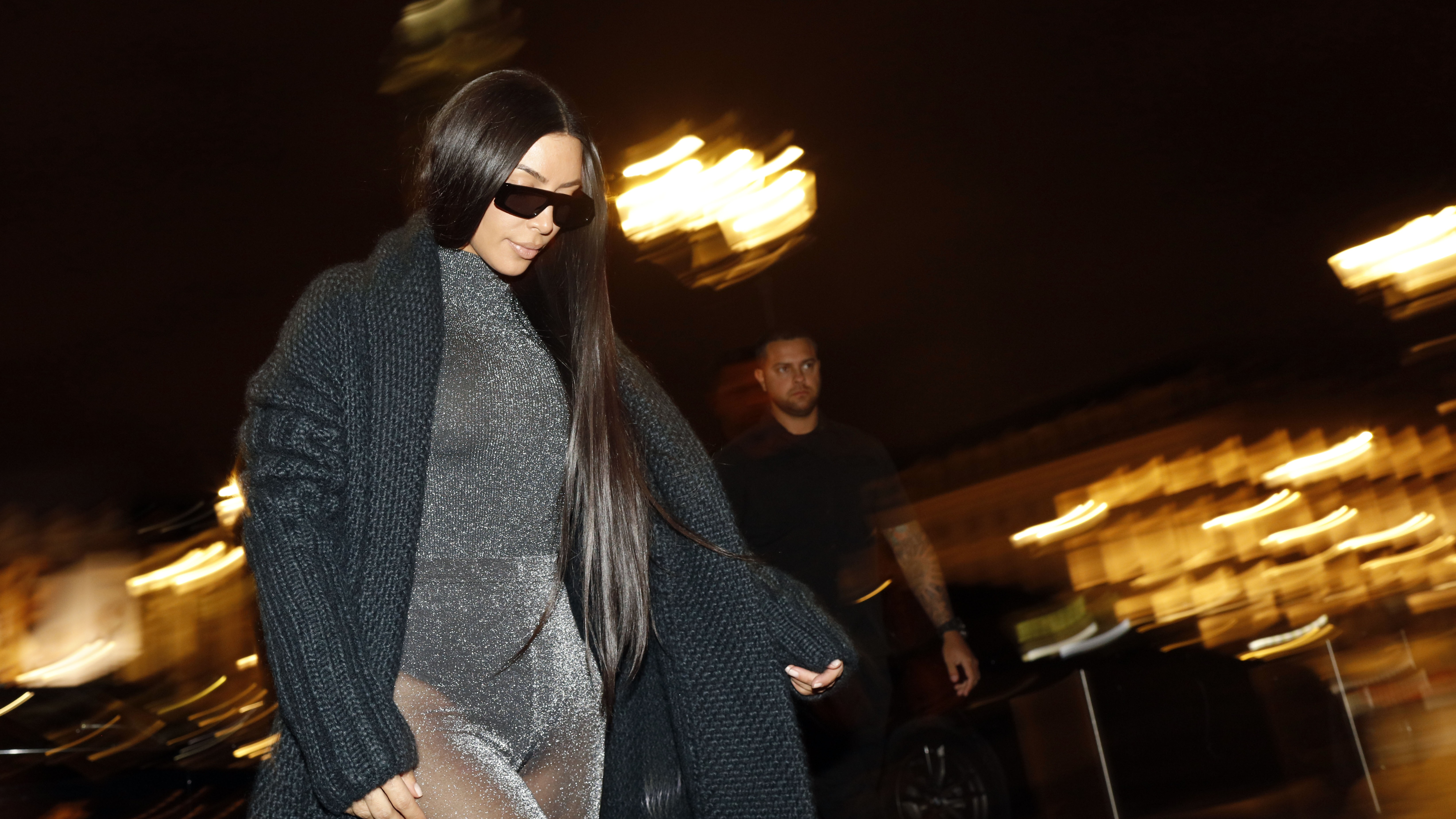 Kim Kardashian Looks Like We All Did In University As She Sits Her First Law Exam