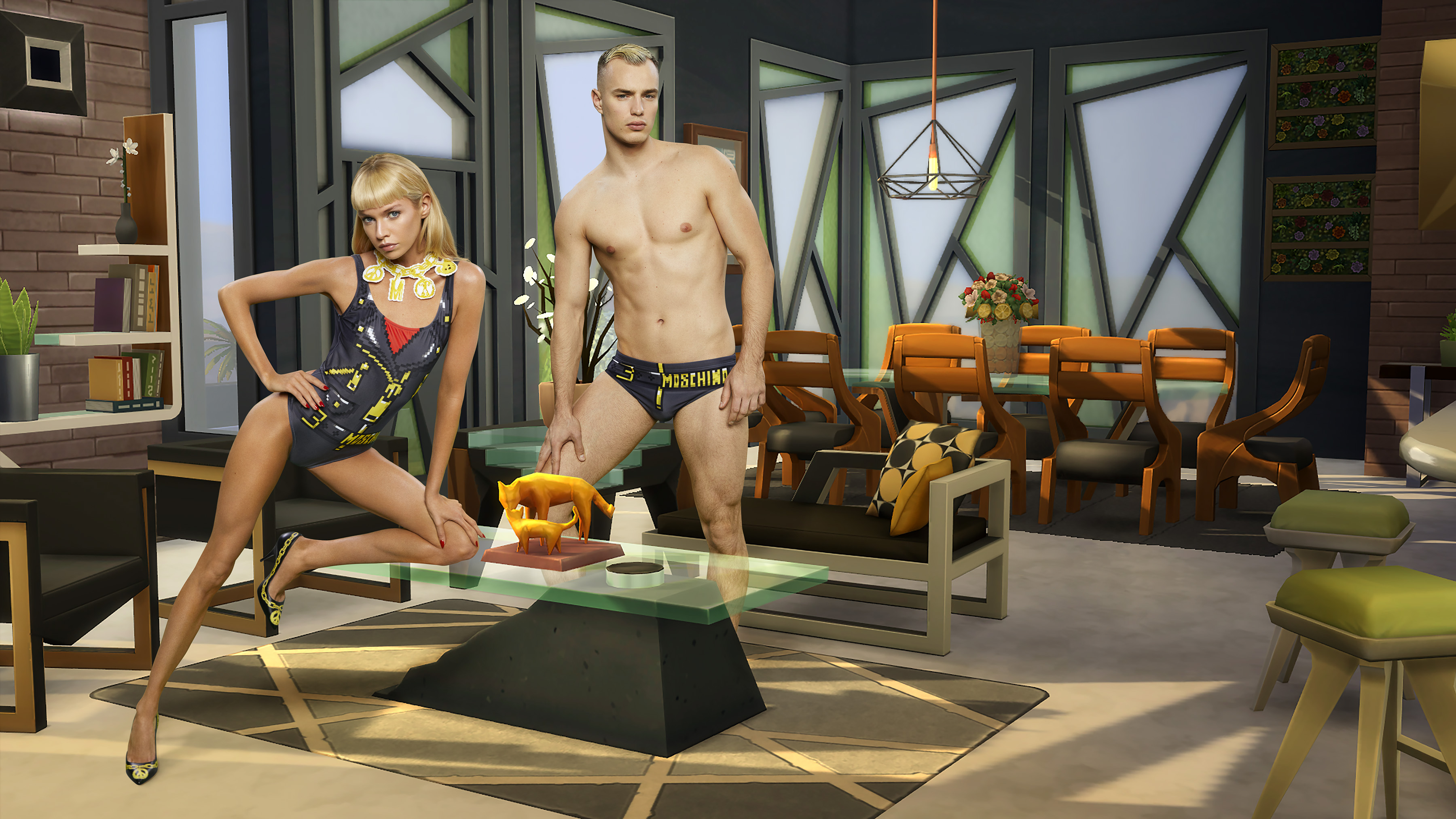 Moschino Is About To Release A Line Inspired By 'The Sims'