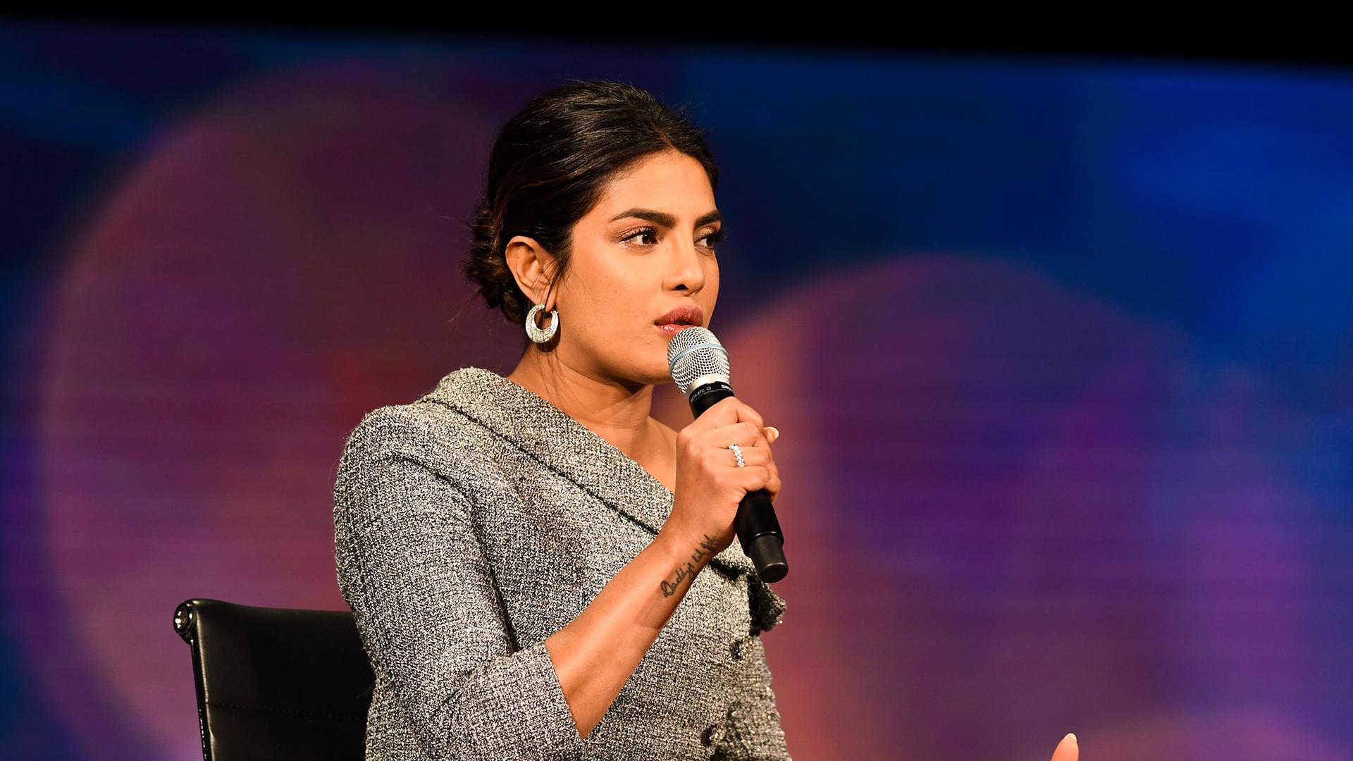 Image result for priyanka chopra women of the world summit