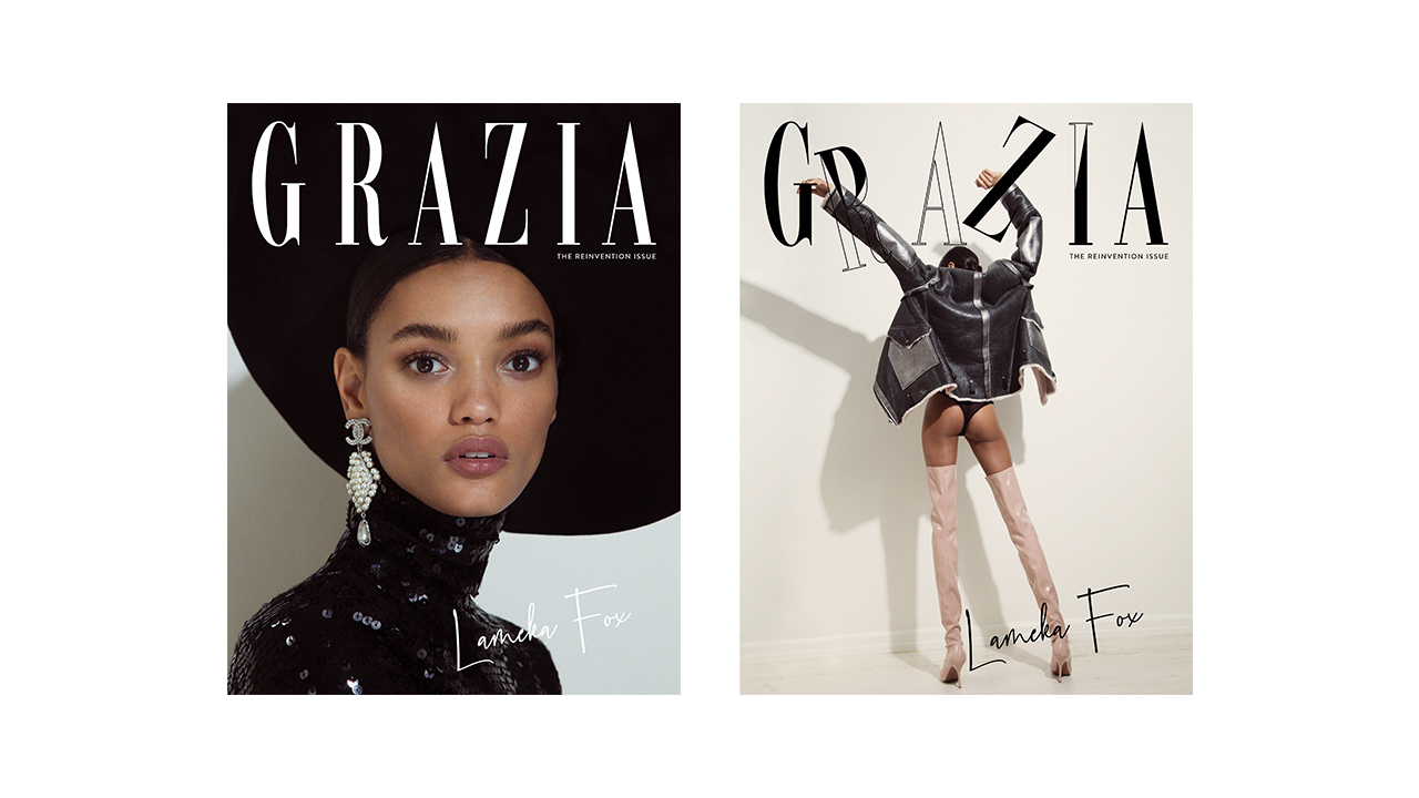 SUBSCRIBE TO GRAZIA for your copy of the reinvention issue