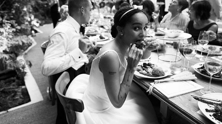 Zoe Kravitz Shares First Photos From Wedding To Karl Glusman