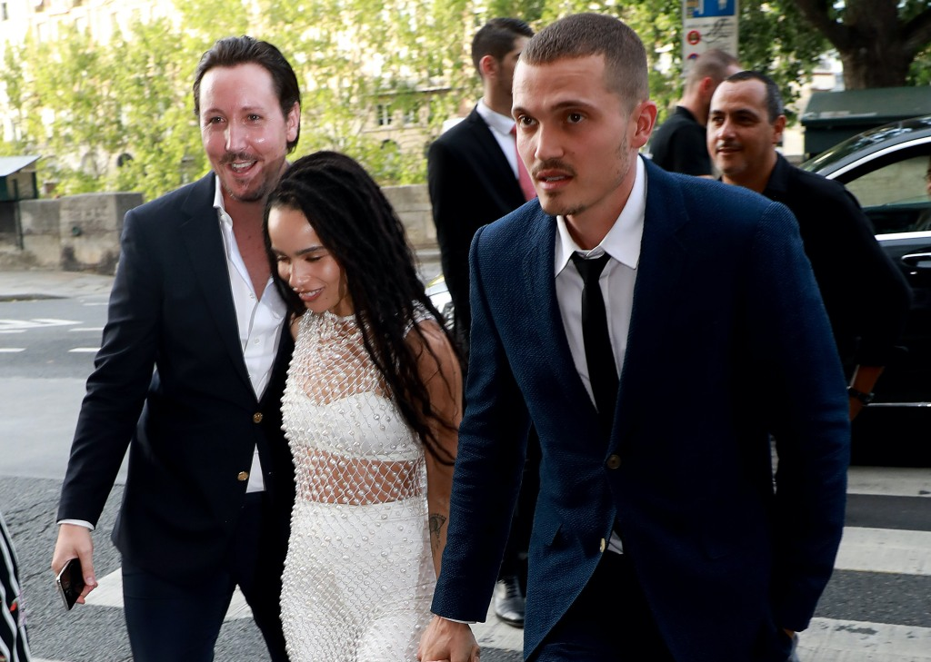 Zoe Kravitz Shares First Photos From Wedding To Karl Glusman