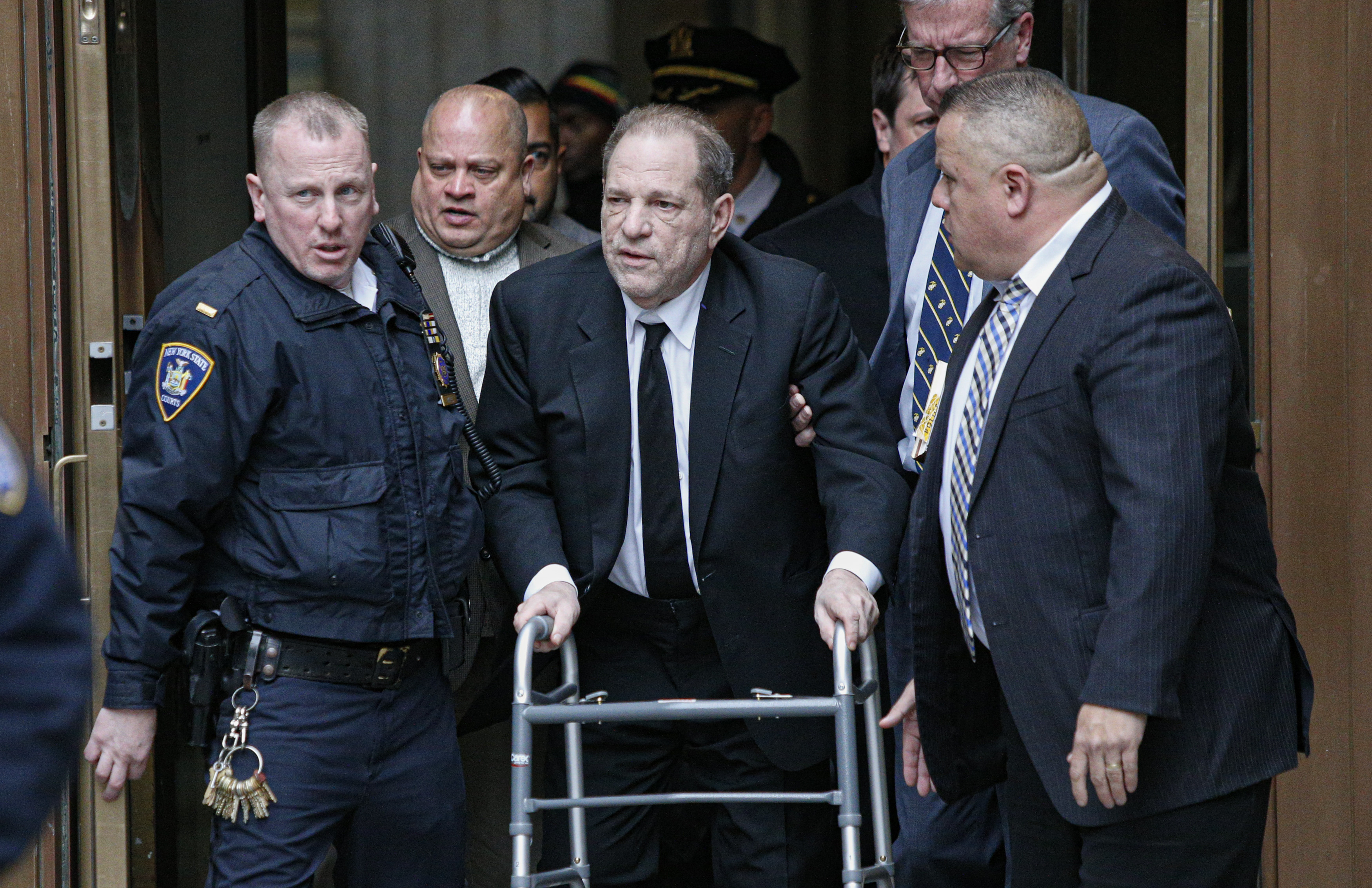 Harvey Weinstein Faces Trial In New York City